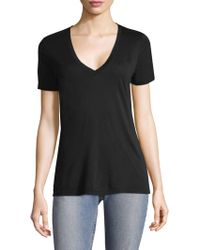 Cotton Citizen - The Classic V-neck Tee - Lyst
