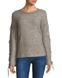 n:PHILANTHROPY - Amy Lace-up Sweater - Lyst