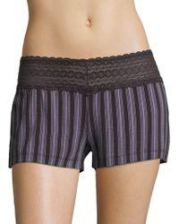 Saks Fifth Avenue - Lori Stripe Boxer Shorts - Lyst