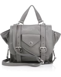 Linea Pelle | Rowan Mini Leather Messenger Bag | Lyst