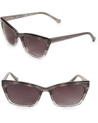 Colors In Optics - Brickell 55mm Small Cat Eye Sunglasses - Lyst