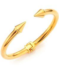 Vita Fede - Mini Titan Cuff Bracelet/goldtone - Lyst