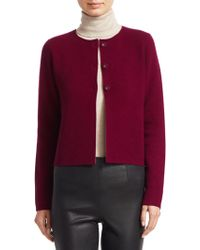 Saks Fifth Avenue - Collection Wool & Cashmere Double-faced Cropped Jacket - Lyst