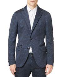 Etro - Paisley Cotton Sportcoat - Lyst