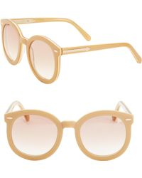 30fa10435bb Lyst - Karen Walker Tortoiseshell Super Duper Strength Sunglasses in ...