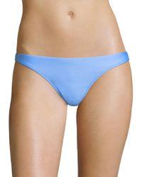 MILLY - Maglificio Ripa Italian Solid Swim St. Lucia Bikini Bottom - Lyst