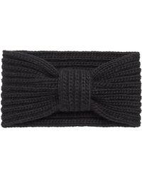 Portolano - Wool Knit Headband - Lyst