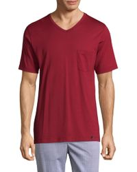 Hanro - Day & Night V-neck Tee - Lyst