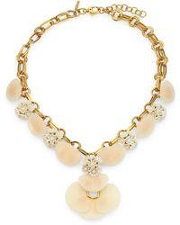 Lele Sadoughi - Island Shell Necklace - Lyst