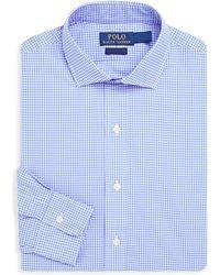 Polo Ralph Lauren - Regular-fit Plaid Poplin Dress Shirt - Lyst
