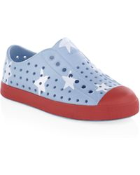 Native Shoes Kid's Jefferson Print Trainers