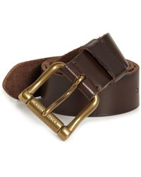 Ralph Lauren - Chunky Roller Ball Buckle Belt - Lyst