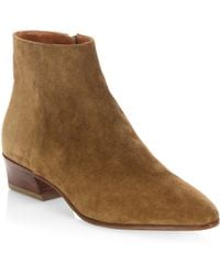 Aquatalia - Fire Leather Ankle Boots - Lyst