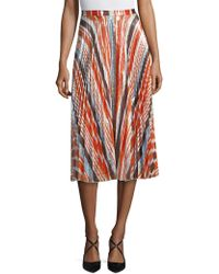 Delfi Collective | Clara Pleated Skirt | Lyst
