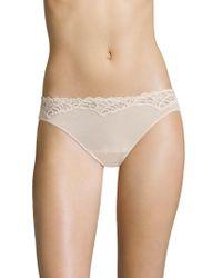 Natori Foundations - Feathers Essence Low-rise Bikini Panty - Lyst
