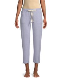 Skin - Hudson Marled Lounge Pants - Lyst