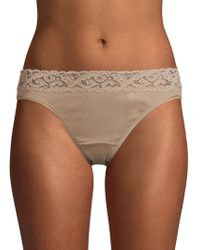 Hanro - Moments Hi-cut Brief - Lyst