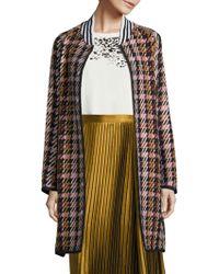 Public School - Makhi Wool Plaid Coat - Lyst