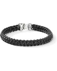 David Yurman - The Chain Collection Woven Chain Bracelet - Lyst