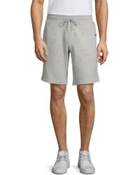 ff478f09704f Lyst - Moncler Classic Cotton-jersey Jogging Bottoms in Gray for Men