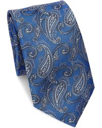 Saks Fifth Avenue - Collection Paisley Silk Tie - Lyst