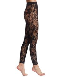 Wolford   Louise Lace Leggings   Lyst