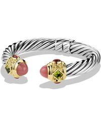David Yurman - Renaissance Bracelet With Gold - Lyst