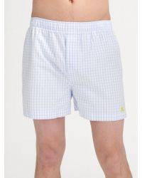 Burberry - Cotton Boxers - Lyst