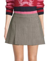 Tommy Hilfiger - Checked Mini Skirt - Lyst