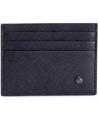 Giorgio Armani - Textured Leather Card Holder - Lyst