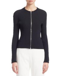 Jonathan Simkhai - Staple Knit Zip-up Jacket - Lyst