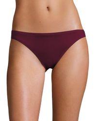 Carmen Marc Valvo - Classic Weave Bikini Bottom - Lyst