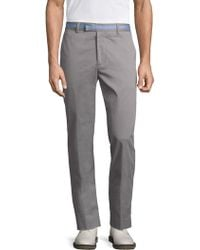 G/FORE - Straight Leg Sharkskin Trousers - Lyst
