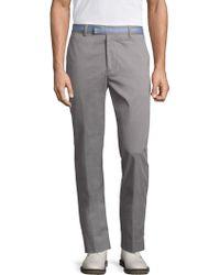 G/FORE - Straight Leg Sharkskin Trousers - Lyst