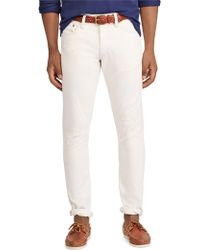 Polo Ralph Lauren - Sullivan Slim Fit Jeans In White - Lyst