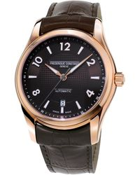 Frederique Constant - Runabout Automatic Stainless Steel Watch - Lyst