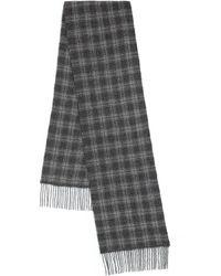 John Varvatos - Plaid Wool & Cashmere Scarf - Lyst