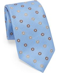 Saks Fifth Avenue - Medallion Silk Tie - Lyst