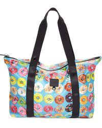 Terez - Donut-print Collapsible Tote - Lyst