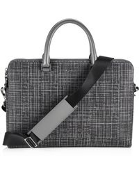 Michael Kors - Patterned Leather Briefcase - Lyst