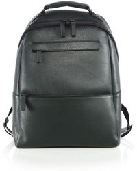 Saks Fifth Avenue | Oblique-zip Leather Backpack | Lyst