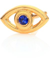 Ileana Makri | Mini Eye Crystal Single Stud Earrings | Lyst