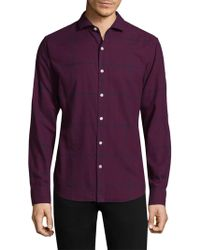 Bonobos - Windowpane Cotton Button-down Shirt - Lyst