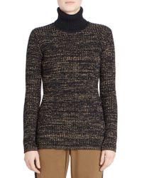 Dries Van Noten - Knit Turtleneck Sweater - Lyst