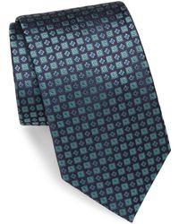Brioni - Geometric Print Silk Tie - Lyst