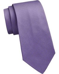 Ralph Lauren Purple Label - Bond Street Silk Geometric Tie - Lyst
