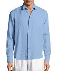 Vilebrequin - Lagoon Linen Shirt - Lyst