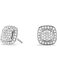 David Yurman - Petite Albion Earrings With Diamonds - Lyst
