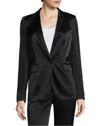 Donna Karan - One-button Blazer - Lyst