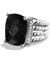 David Yurman - Wheaton Ring With Diamonds - Lyst